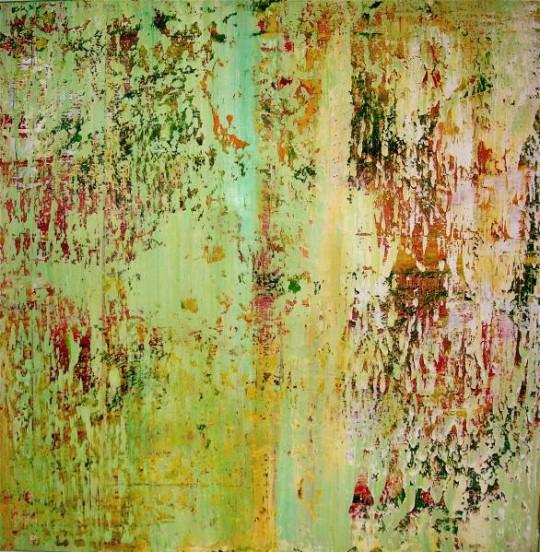 April 2011 Öl auf Leinwand 100 cm x 100 cm