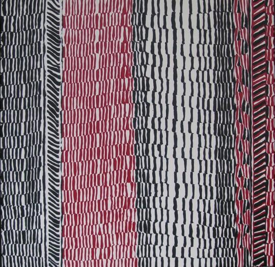 Schwarz-Weiss-Rot II 2013 Acryl auf Leinwand 60 cm x 60 cm