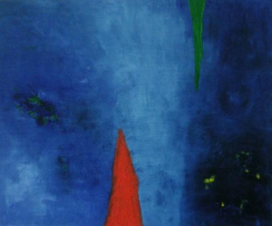 Märchenhaft 2011 Öl auf Leinwand 120 cm x 100 cm