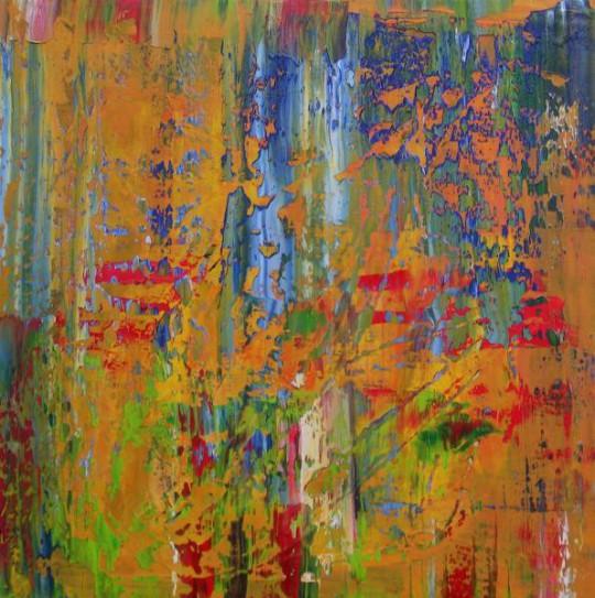 Herbst 2014 Öl auf Leinwand 80 cm x 80 cm