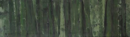 Bambus 2010 100 Acryl auf Leinwand cm x 30 cm