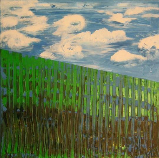Frühlingswind 2007 Acryl auf Leinwand 60 cm x 60 cm