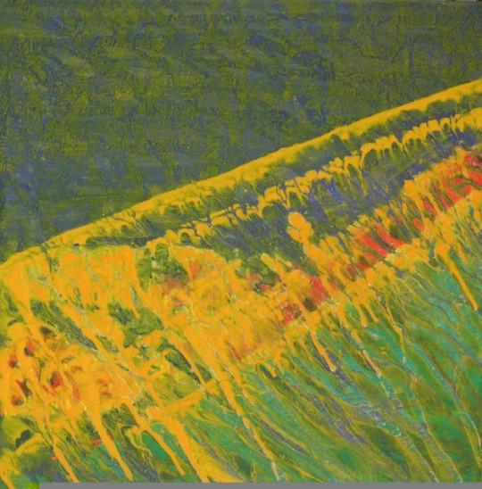 Seegras 2008 Öl auf Leinwand 60 cm x 60 cm