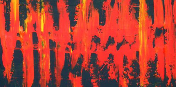 Rot 2010 Acryl auf Leinwand 80 cm x 80 cm
