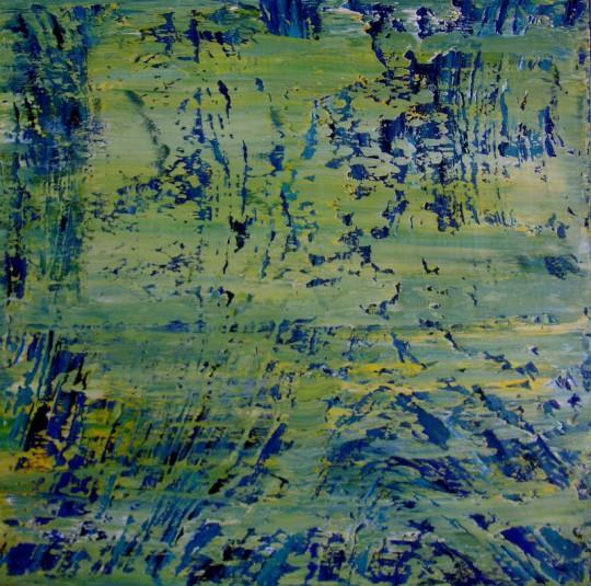 Warmfront 2012 Öl auf Leinwand 80 cm x 80 cm