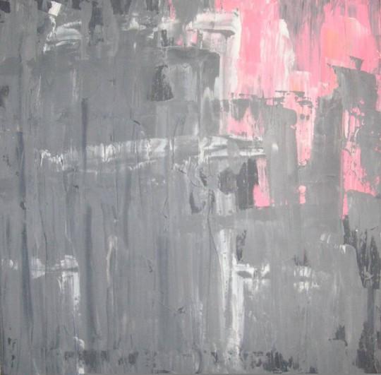 Lichtblick 2005 Öl auf Leinwand 50 cm x 50 cm