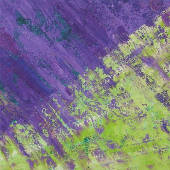 Provence 2010 Öl auf Leinwand 60 cm x 60 cm