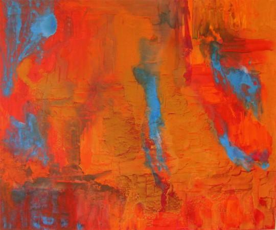 Grand Canyon 2010 Acryl auf Leinwand 120 cm x 100 cm