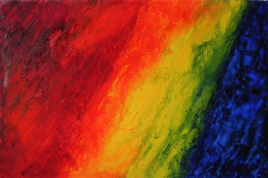 Spektrum 2011 Öl auf Leinwand 120 cm x 80 cm