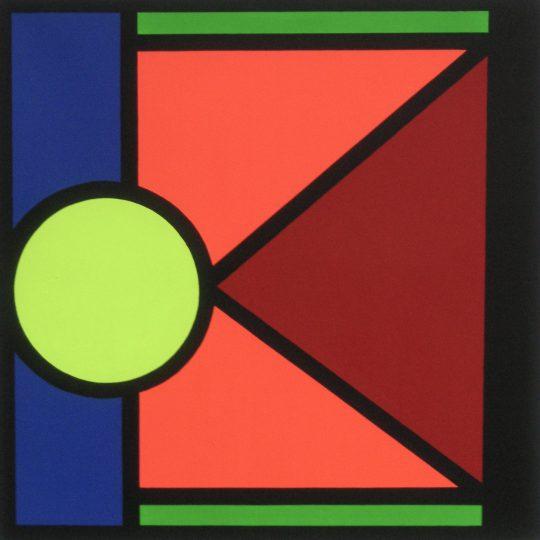 100 Jahre Bauhaus 2020 100 cm x 100 cm