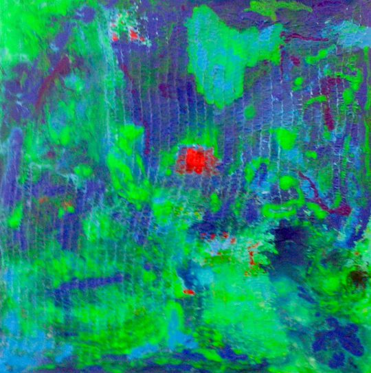 Irrlichter 2015 Acryl auf Leinwand 60 cm x 60 cm
