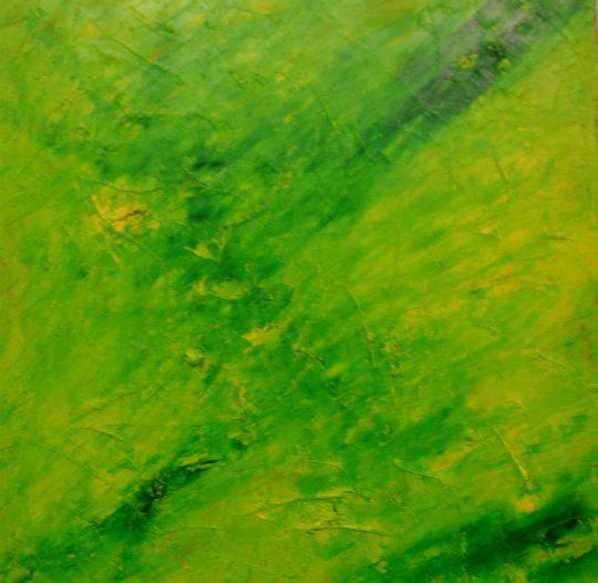 Frühling 2014 Acryl auf Leinwand 90 cm x 90 cm