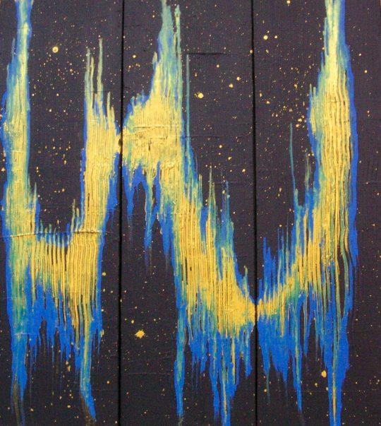 Eisenoxid/Acryl auf Leinwand 2019 60 cm x 60 cm