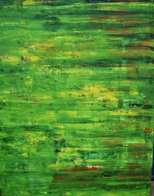 o.T. 2020 Acryl auf Leinwand 80 cm x 100 cm