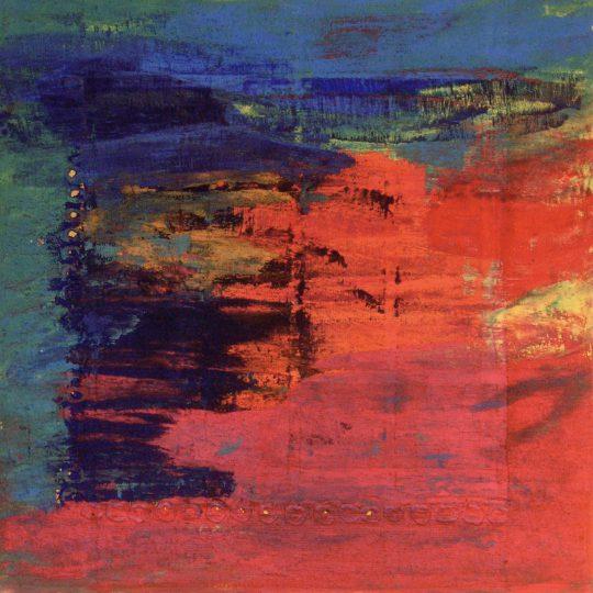Zauberwelt 2010 Acryl auf Leinwand 60 cm x 60 cm